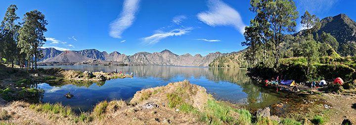 Danau Segara Anak, Gunung Rinjani, Lombok