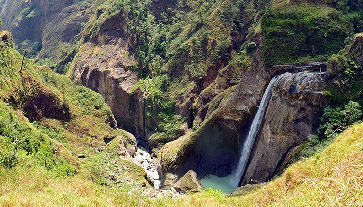 Air Terjun Penimbungan, Gunung Rinjani, Lombok