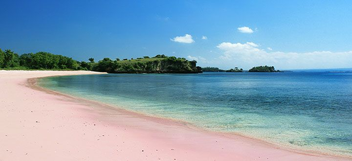 Pantai Pink, Lombok Timur
