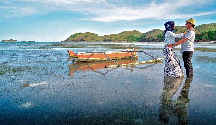 Pantai Tanjung Aan, Kuta, Lombok Tengah