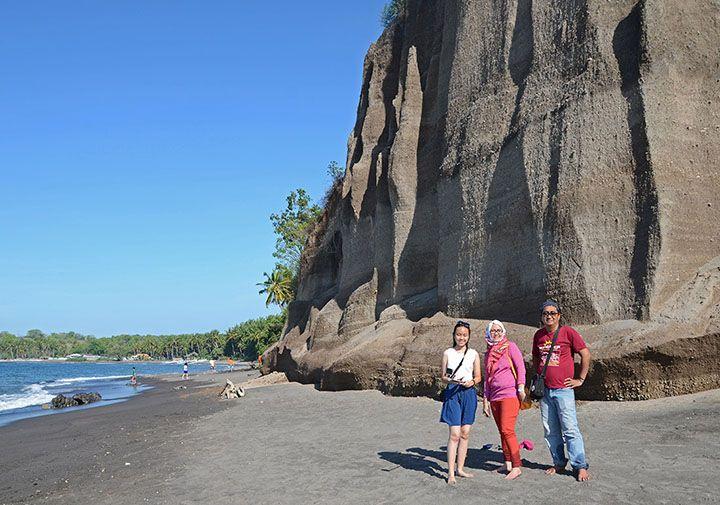 Pantai Tebing, Lombok Utara