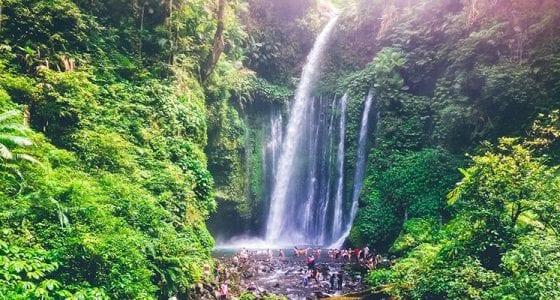Air Terjun Tiu Kelep Lombok